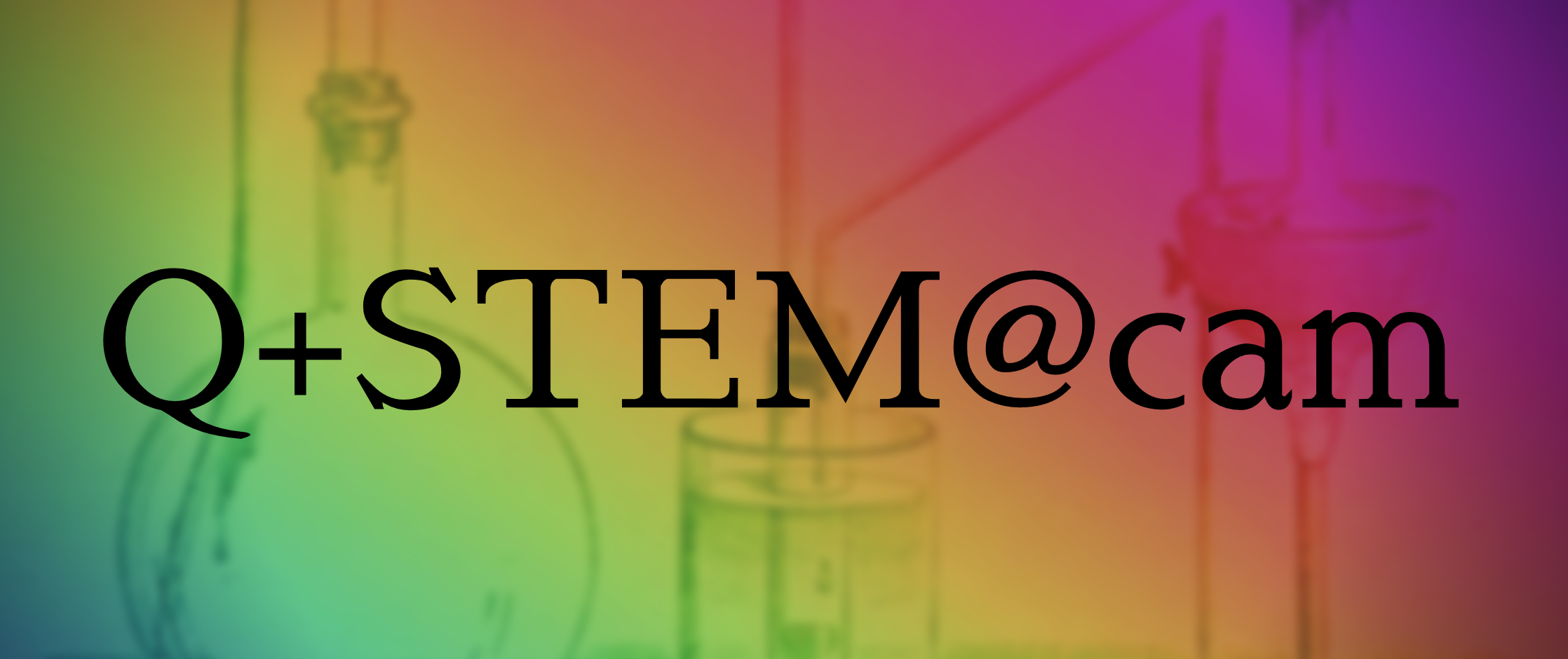 the Q+STEM logo