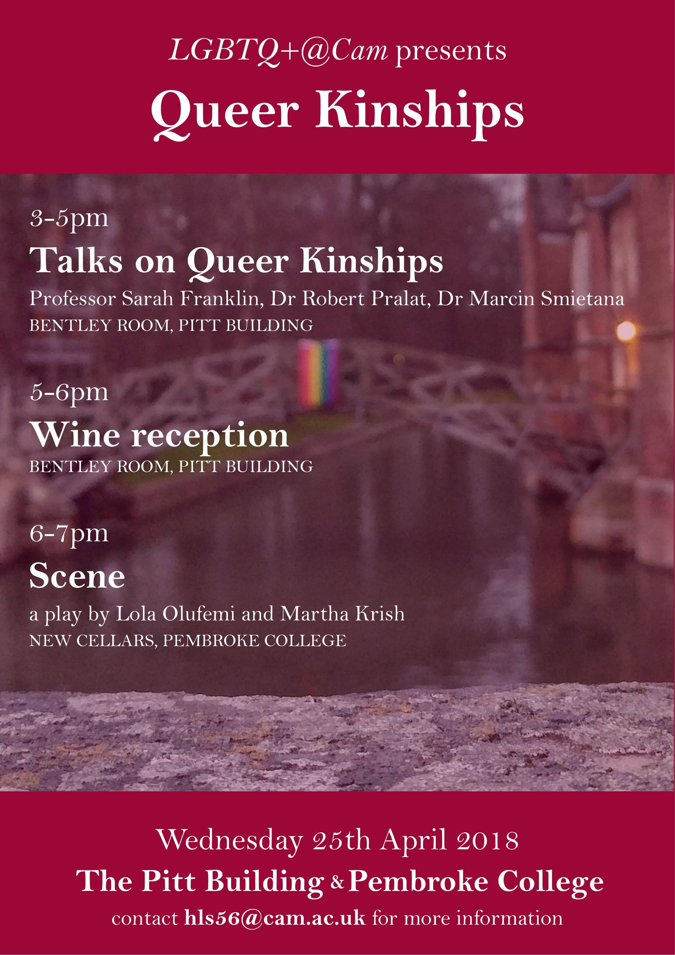 Queer Kinships April 25